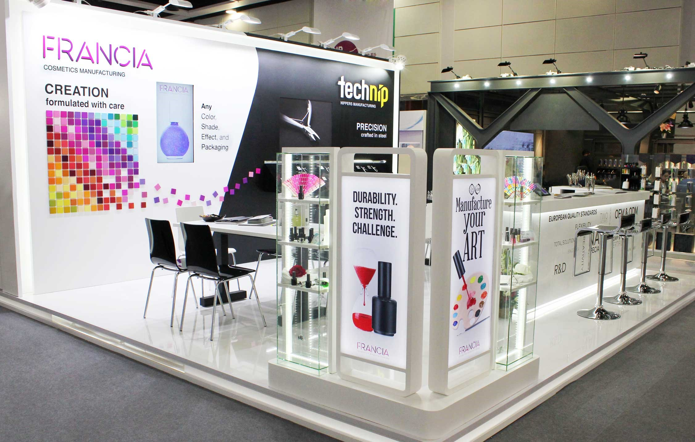 Francia Beauty Group was in Hong Kong last month